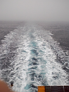 津軽海峡霧景色